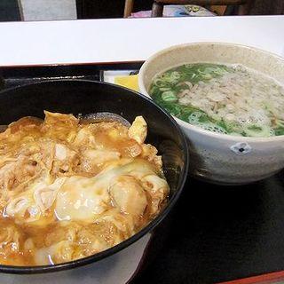 親子丼+そば(三勝うどん屋 )