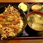 穴子丼 (煮穴子)