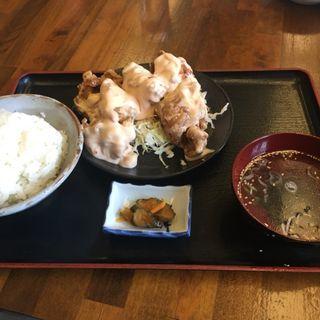 唐マヨ定食(三浦家 )
