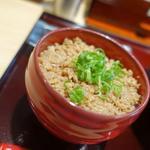 担麺とライスセット