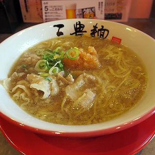 みぞれ肉そば(三豊麺 ~斬~ 堺筋店 )