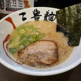 とんこつ三豊麺(三豊麺 なんば日本橋店  (サンポウメン))