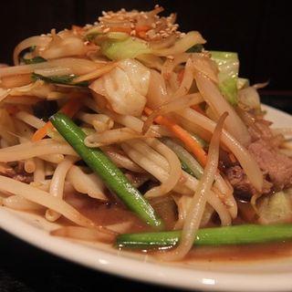 牛スタミナ炒め定食(上州屋 (お食事処 上州屋))