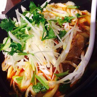葱油刀削麺(刀削麺 張家 麹町店 )