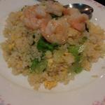 レタス海鮮炒飯