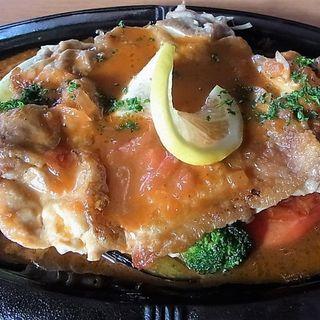 若鶏の鉄板焼ステーキ(下北バル )