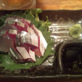 鯖の刺し身(丑寅 (ウシトラ))