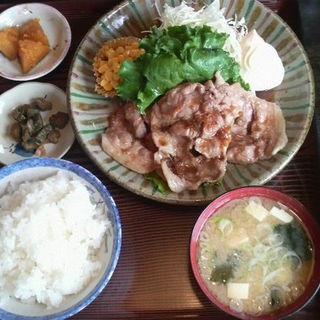 豚生姜焼き定食(両国ラーメン )