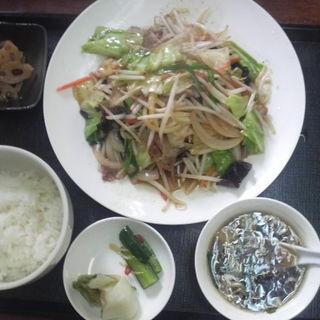 野菜炒め定食(中むら )