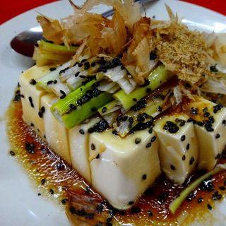 豆腐と胡瓜の中華風サラダ(小)(中国大飯店)