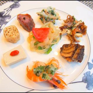 冷菜盛り合わせ(中国料理 「王朝」 ヒルトン東京 )