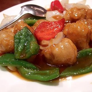 酢豚 糖醋肉塊(中国料理 大名 華風)