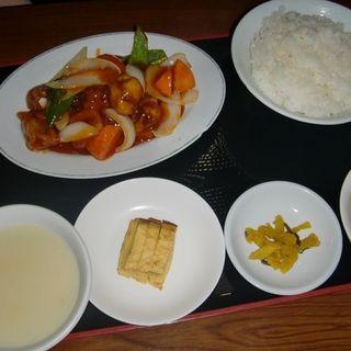 酢豚定食(中国料理 得月楼 )