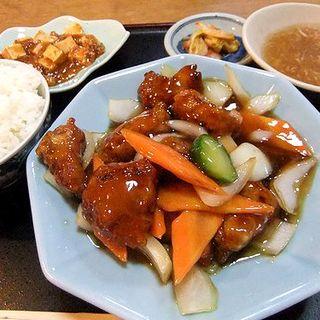 古老肉定食 酢豚(中国料理 福林楼)
