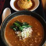 天津飯&四川坦々麺