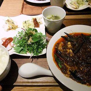 四川麻婆豆腐定食(中国菜 四合院凛丹 (チュウゴクサイシゴウインリンタン))