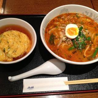 担々麺セット(中国酒家 朝陽閣 天満橋 )