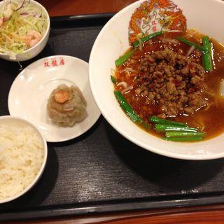 台湾ラーメン定食(中国食府 双龍居 天満駅前店 )