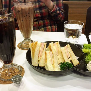 ハムチーズホットサンド(中島珈琲 )