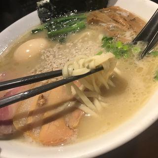 特製濃厚鶏白湯ラーメン(東行)