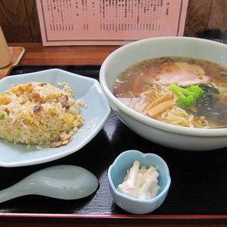 チャーハン+ラーメン(ダブルセット)(中華あじくらべ )