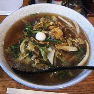 広東麺(中華スパーレストラン 北天龍)