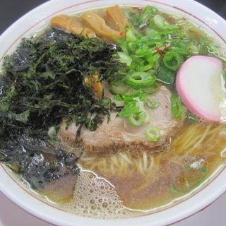 煮干し中華そば(醤油)(中華そば 上々 )