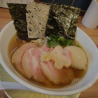 特製生姜煮干しソバ(中華ソバ 篤々 TOKU-TOKU)