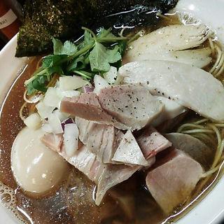 味玉貝と煮干しのそば(中華そば先崎 )