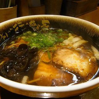 醤油ラーメン(中華そば行徳屋)