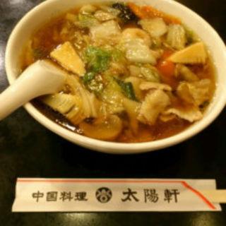 五目そば(中華料理 太陽軒 )