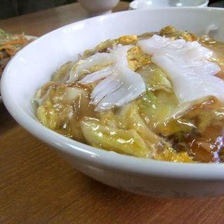 中華丼(中華料理 新華園)
