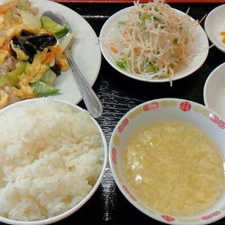 豚肉と玉子炒めランチ(中華料理 福山 駅東店)