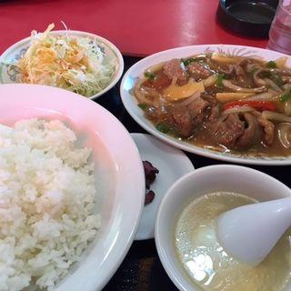 旨煮焼肉定食(中華料理 華仙 (チュウカリョウリ カセン))