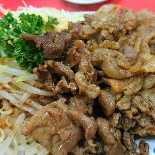 焼き肉(豚)(中華料理 豚麺)