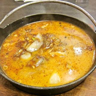 牛バラ牛スジとろとろ担々麺(コラーゲン入り)