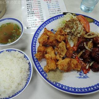 C定食(中華料理てんぐラーメン )