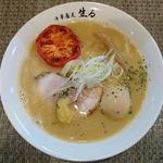 味玉濃厚塩中華そば+ローストトマト1/2個(らーめん用)