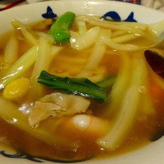 八宝麺セット(中華飯店てんじく 西明石店 )