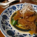 花咲きクラゲの冷菜 熟成黒酢風味