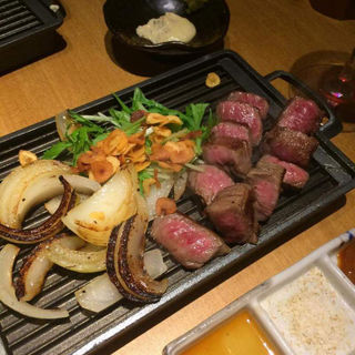 宮崎牛の鉄板焼(串イッカ )