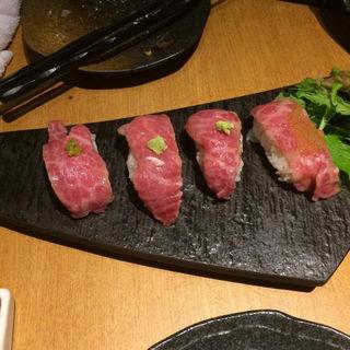 牛肉握り(串イッカ )