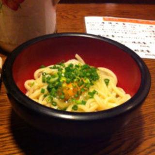 釜玉うどん定食(串エ門 室町店 (クシエモン))