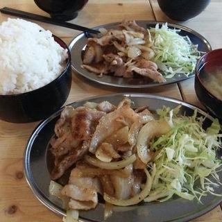 生姜焼き定食(串だおれ 水道橋店 )