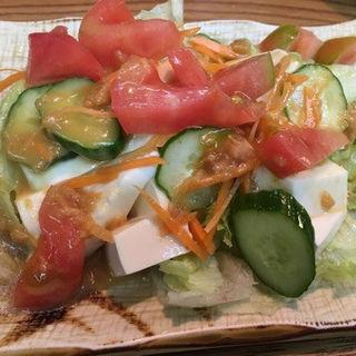 豆腐サラダ(串乃助 (くしのすけ))