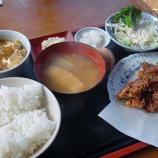 レバ唐定食(串美 )