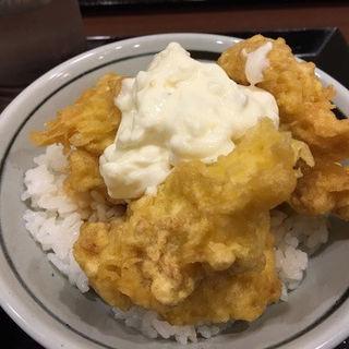 鳥天ご飯(丸亀製麺 名古屋スパイラルタワーズ店 )