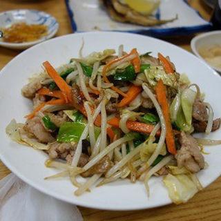 肉野菜炒め(丸大ホール)
