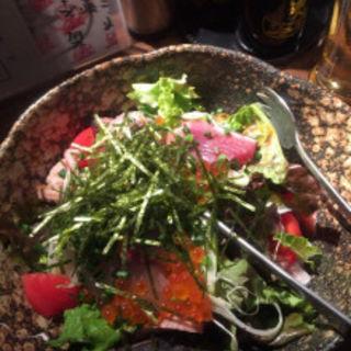 海鮮サラダ(丸秀鮮魚店)