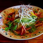 彩り冷し麺